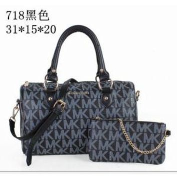 MK PURSE WOMEN'S HANDBAG TOTE+WALLET SHOULDER BAG MK718