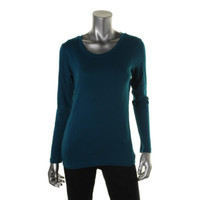 Style & Co. Womens Jewel Neck Long Sleeves Casual Top