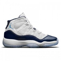 PEAPVX Beauty Ticks Men's Nike Air Jordan 11 Win Like 82 White/university Blue-midnight Navy 378037-123