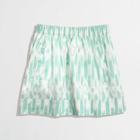 FACTORY PRINTED POCKET SKIRT