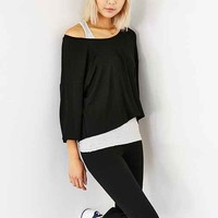 Silence + Noise Monica Layered Two-In-One Top