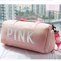 PINK VS Fashion Portable His Traveling Bag Satchel Travel Bag Crossbody
