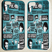 Supernatural Quote Collage F0047 iPhone 4S 5S 5C 6 6Plus, iPod 4 5, LG G2 G3, Sony Z2 Case