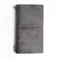 TRAVELER'S  Company Leather Journal Starter Kit Black