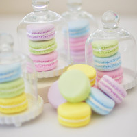 Made to Order - Set of 10 Clay French Macarons, You Pick Your Colors