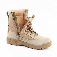 New America Sport Army Men's Tactical Boots Desert Outdoor Hiking Boots Military Enthusiasts Marine Male Combat Shoes w48