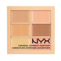 NYX Conceal Correct Contour Palette in Light