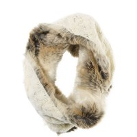 Aerie Knit Faux Fur Snood   Aerie for American Eagle