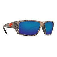 Fantail Realtree XTRA Sunglasses with Blue Mirror 580P Lenses by Costa Del Mar