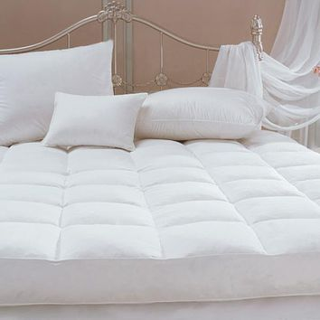 100% Cotton Featherbed Cover by Downright