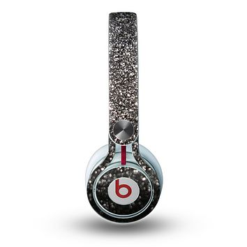 The Black Unfocused Sparkle Skin for the Beats by Dre Mixr Headphones