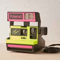 Impossible Project Neon Cool Rare Polaroid Camera