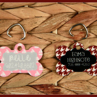 Custom Dog Tags, Personalized Pet ID Tag, Pet Tag ID Tag For Cats and Dogs, Christmas Gifts for Pet Lovers, Dog Tag, Custom Pet Accessories