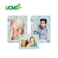 """6"""" x 4"""" Inch Fridge Photo Frame Lovely Colorful Retro Cartoon  Magnet Picture Frames  3 Pieces / Set New Arrival"""