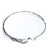 Brandy ♥ Melville    Antique Silver Dove Bangle - Just In