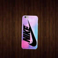 Nike Pink Pastel Turquois for iphone 4 5 5c 6 6plus samsung S4 S5 case cover