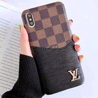 LV Tide brand iPhone XS Max mobile phone case cover 9