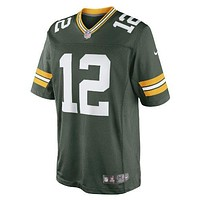 Nike Mens Green Bay Packers Limited Team Jersey Aaron Rodgers 468922-323