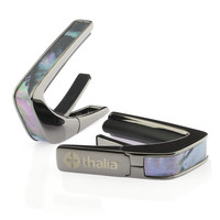 Thalia Capo 200 in Black Chrome Finish with Silver Lip Conch