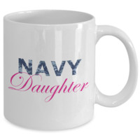 Navy Daughter - 11oz Mug