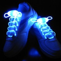 LED Flash Light Up Shoelaces - Hip-Hop 3 Modes