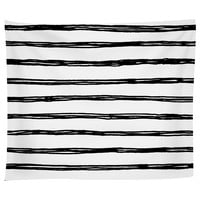 Inked Lines Tapestry