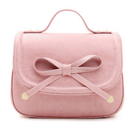 Pink Bow Body Bag With Buckle Handle - Choies.com