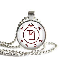 Supernatural Angel Banishing Sigil Necklace Handmade