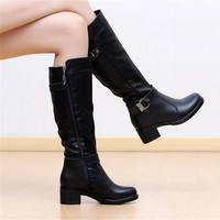 Winter Fashion Knee High Boots