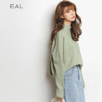 Korean Knit Tops Sweater Autumn Pullover Jacket [9022906951]