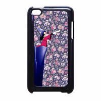 Mickey Mouse The Wizard Floral Vintage iPod Touch 4th Generation Case