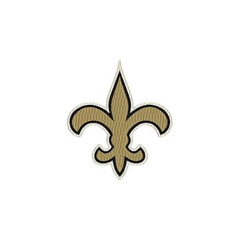 Patch Craft - New Orleans Saints Iron-On Patch - (3 Sizes)