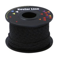 New Black 100ft 300lbs Braided Fishing Line Kevlar Kites Line Survival Cord Rope For All Outdoors Survival Camping