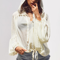 Silence + Noise Cinnamon Oversized Popover Blouse | Urban Outfitters