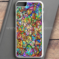 All Disney Heroes Stained Glass Iphone Case iPhone 6 Plus Case   casefantasy