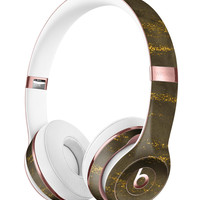 Gold Icicles over Dark Fog Full-Body Skin Kit for the Beats by Dre Solo 3 Wireless Headphones