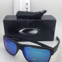 One-nice™ Polarized OAKLEY Sunglasses TWOFACE OO9189-35 Matte Black w/ Sapphire Iridium