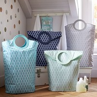 Easy Carry Laundry Bag, Ogee