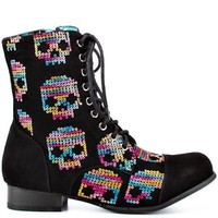 IRON FIST SUGAR HICCUP  WOMEN COMBAT BOOTS  ALL US SIZES