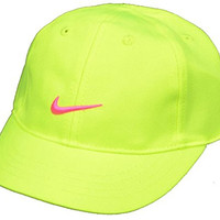 Nike Baby Girl's Embroidered Swoosh Logo Cotton Baseball Cap 12/24M