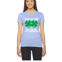 Touch My Lucky Charms - Women's Tee