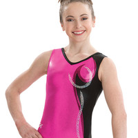 Berry Shimmer Gymnastics Leotard from GK Elite