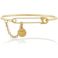 Marc by Marc Jacobs - Music Fiend gold-plated cubic zirconia bracelet