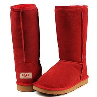 UGG Women male Fashion Wool Snow Boots-214