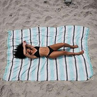 XL Mint Baja Towel by Sand Cloud