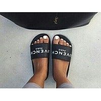 GIVENCHY PARIS new tide brand fashion comfortable loose slippers sandals shoes F