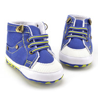 Blue Casual Newborn Baby Boy Shoes