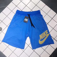 Nike couple of cotton flanged shorts