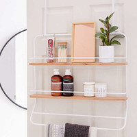 Over-The Door Tiered Storage Rack | Urban Outfitters
