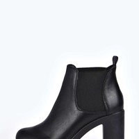 Rosie Cleated Platform Chelsea Boot